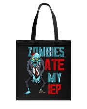 ZOMBIES ATE MY IEP Tote Bag thumbnail