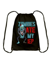 ZOMBIES ATE MY IEP Drawstring Bag thumbnail