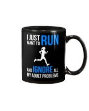 I JUST WANT TO RUN Mug tile