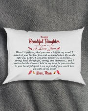 MY DAUGHTER - WASN'T IT YESTERDAY Rectangular Pillowcase aos-pillow-rectangle-front-lifestyle-1