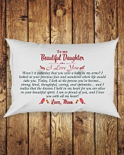 MY DAUGHTER - WASN'T IT YESTERDAY Rectangular Pillowcase aos-pillow-rectangle-front-lifestyle-2