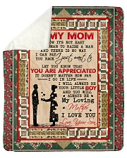 "MS003 - GIFT FOR MOM Sherpa Fleece Blanket - 50"" x 60"" thumbnail"