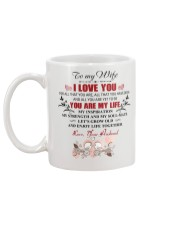 To My  WIFE - I LOVE YOU FOR ALL THAT YOU ARE Mug back