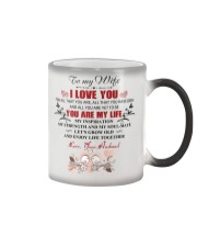 To My  WIFE - I LOVE YOU FOR ALL THAT YOU ARE Color Changing Mug thumbnail