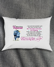 TO MY FIANCEE - PILLOWCASE Rectangular Pillowcase aos-pillow-rectangle-front-lifestyle-1