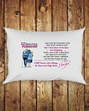 TO MY FIANCEE - PILLOWCASE Rectangular Pillowcase aos-pillow-rectangle-front-lifestyle-2