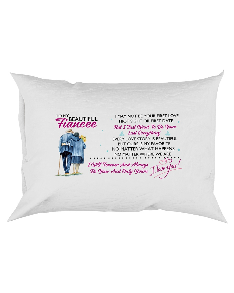 TO MY FIANCEE - PILLOWCASE Rectangular Pillowcase