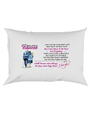 TO MY FIANCEE - PILLOWCASE Rectangular Pillowcase front