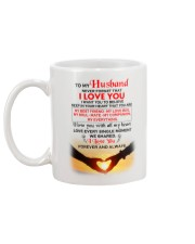 To My HUSBAND - NEVER FORGET THAT Mug back