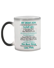 MY DEAR SON Color Changing Mug color-changing-left