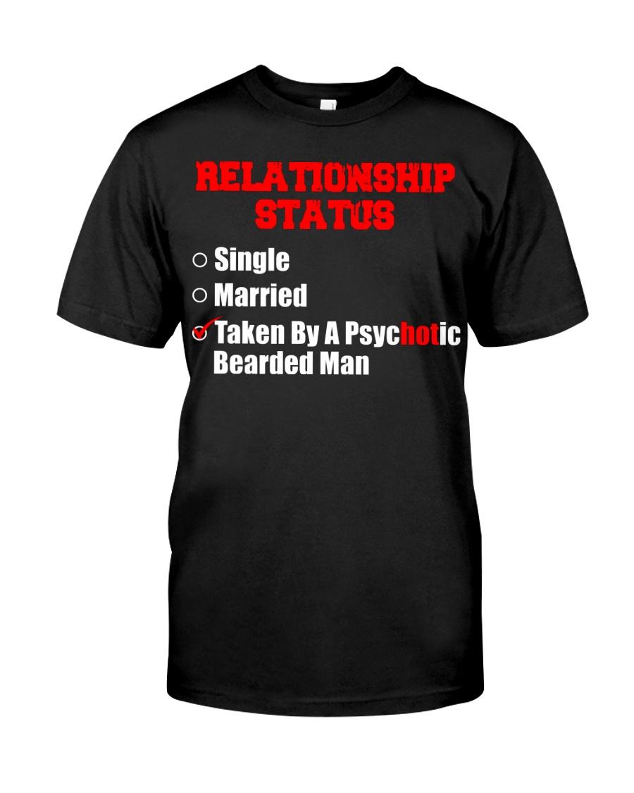 Relationship status single Classic T-Shirt