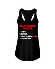 Relationship status single Ladies Flowy Tank thumbnail