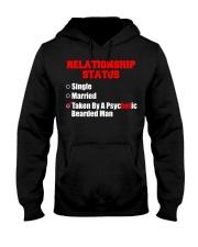 Relationship status single Hooded Sweatshirt thumbnail