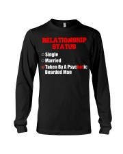 Relationship status single Long Sleeve Tee thumbnail
