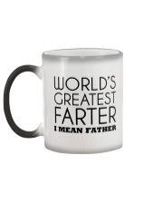 World's Greatest Father  Color Changing Mug color-changing-left
