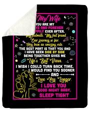 "WF014 - GIFT FOR WIFE  Sherpa Fleece Blanket - 50"" x 60"" thumbnail"
