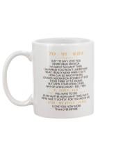 MY WIFE - JUST TO SAY I LOVE YOU Mug back