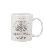 MY WIFE - JUST TO SAY I LOVE YOU Mug front