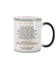 MY WIFE - JUST TO SAY I LOVE YOU Color Changing Mug thumbnail