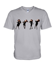 elainedancing-seinfeld V-Neck T-Shirt thumbnail