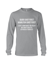 the first shirt Long Sleeve Tee front