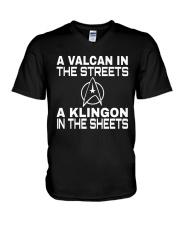 A VALCAN tshirt V-Neck T-Shirt thumbnail