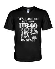 ALI40 V-Neck T-Shirt thumbnail