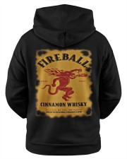 bridget hatfield fireball hoodie Hooded Sweatshirt apparel-hooded-sweatshirt-lifestyle-back-35a