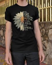 she's a good girl Classic T-Shirt apparel-classic-tshirt-lifestyle-21