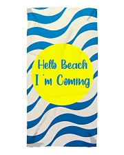 Dawn On The Beach Beach Towel front