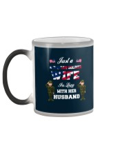 The Love Of Wives Color Changing Mug color-changing-left