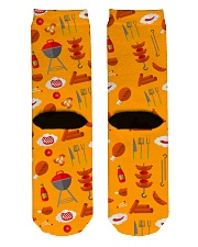 Grill Sausages Crew Length Socks back