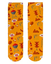 Grill Sausages Crew Length Socks front