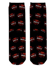 Happy Barbeque Day Crew Length Socks back