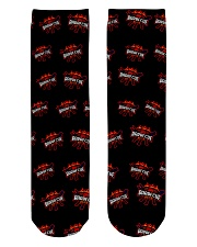 Happy Barbeque Day Crew Length Socks front