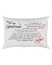 hdgded Rectangular Pillowcase back
