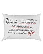 hdgded Rectangular Pillowcase front