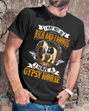 GYPSY HORSE: RICH AND FAMOUS  Classic T-Shirt lifestyle-mens-crewneck-front-4