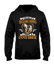 GYPSY HORSE: RICH AND FAMOUS  Hooded Sweatshirt thumbnail