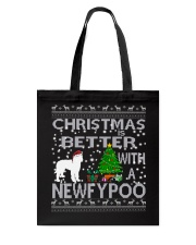 Christmas Is Better With A Newfypoo Tote Bag thumbnail