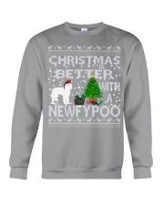 Christmas Is Better With A Newfypoo Crewneck Sweatshirt tile