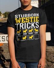 Stubborn Westie Tricks Classic T-Shirt apparel-classic-tshirt-lifestyle-29