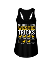 Stubborn Westie Tricks Ladies Flowy Tank thumbnail