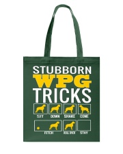 Stubborn Wirehaired Pointing Griffon Tricks WPG Tote Bag thumbnail