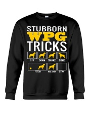 Stubborn Wirehaired Pointing Griffon Tricks WPG Crewneck Sweatshirt thumbnail