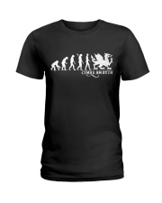 Evolution of Welsh Ladies T-Shirt thumbnail