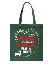 My Heart Paved With Chiweenie Paw Prints Tote Bag thumbnail