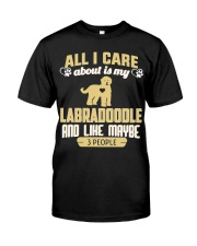 All I Care About Is My Labradoodle Classic T-Shirt front