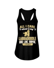 All I Care About Is My Labradoodle Ladies Flowy Tank thumbnail