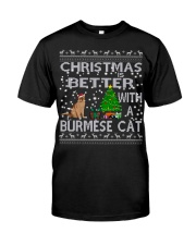 Christmas Is Better With A Burmese cat Classic T-Shirt thumbnail